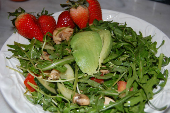 SaladStrawberry